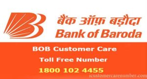 Bank of Baroda Customer Care and 24*7 Helpline Numbers