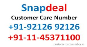 Snapdeal Customer Care Toll Free Number | Emails and Live Chat