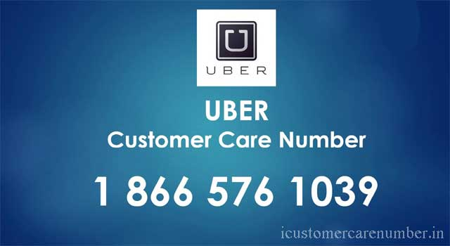 uber customer care number