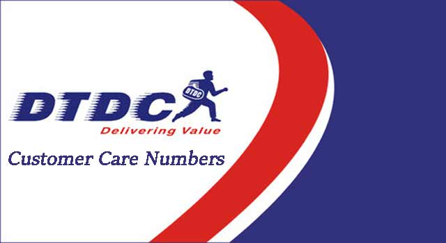 DTDC Customer Care