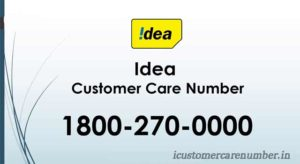 Idea Customer Care Number | Idea Prepaid & Postpaid Toll Free Numbers