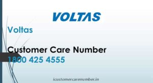 Voltas Customer Care Complaints Email | Customer Toll-Free Helpline