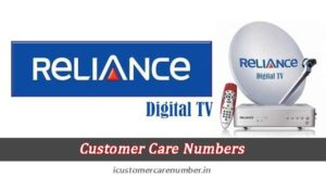 Reliance Digital TV Customer Care and 24*7 Support Helpline