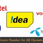 Message Center Number for All Operators in India {Latest 2020}