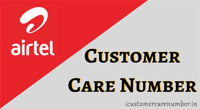 airtel customer care no