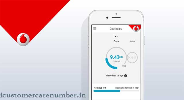 vodafone internet balance check