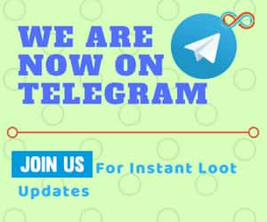 Join Our Telegram Channel- For All Loot Deals Of Upcoming Sales