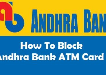 How to Block Andhra Bank ATM Card Debit or Credit Card